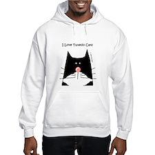 I Love Tuxedo Cats Hoodie