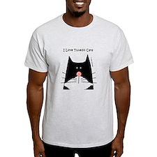I Love Tuxedo Cats T-Shirt