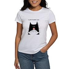I Love Tuxedo Cats Tee