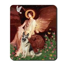 Seated Angel / G-Shepherd Mousepad