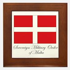 Sovereign Military Order of M Framed Tile