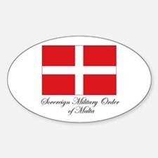 Sovereign Military Order of M Oval Decal