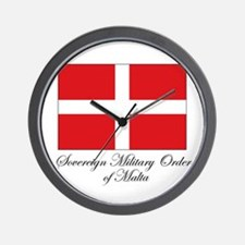 Sovereign Military Order of M Wall Clock