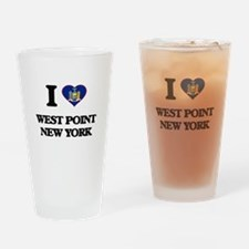I love West Point New York Drinking Glass