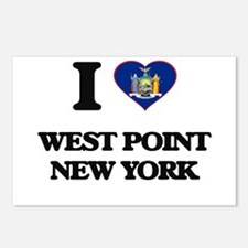 I love West Point New Yor Postcards (Package of 8)