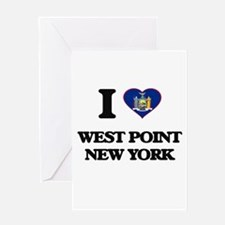 I love West Point New York Greeting Cards