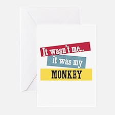 Monkey Greeting Cards (Pk of 10)