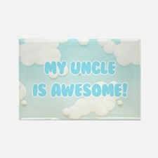My Uncle is Awesome Rectangle Magnet (10 pack)