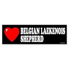 BELGIAN LAEKENOIS SHEPHERD Bumper Bumper Sticker