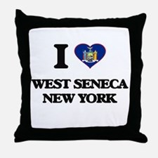 I love West Seneca New York Throw Pillow
