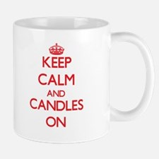 Keep Calm and Candles ON Mugs