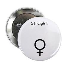 Female Sex Symbol Straight Button