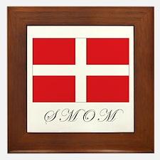 the Order - SMOM - Flag Framed Tile
