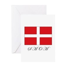 the Order - SMOM - Flag Greeting Card