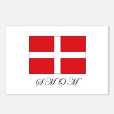 the Order - SMOM - Flag Postcards (Package of 8)