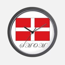 the Order - SMOM - Flag Wall Clock