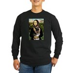 Mona's G-Shepherd Long Sleeve Dark T-Shirt