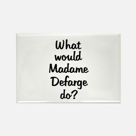 Madame Defarge Rectangle Magnet