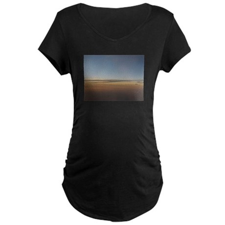 Sunsetsky by Cloud7 Maternity Dark T-Shirt