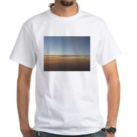 Sunsetsky by Cloud7 White T-Shirt