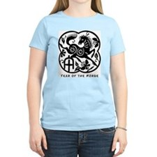 Year of The Horse Women's Pink T-Shirt