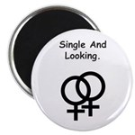 Female Gay Sex Symbol Single and Looking Magnet