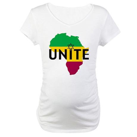Africa Unite Maternity T-Shirt