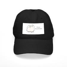 I Love Poms (Cream) Baseball Hat