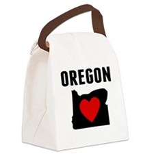 Oregon Canvas Lunch Bag
