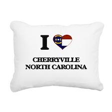 I love Cherryville North Rectangular Canvas Pillow