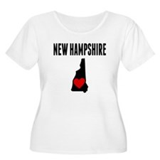 New Hampshire Plus Size T-Shirt