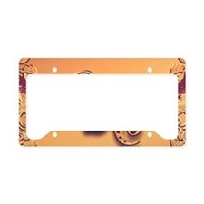 Music, key notes License Plate Holder