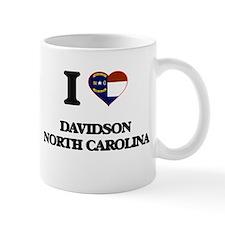 I love Davidson North Carolina Mugs