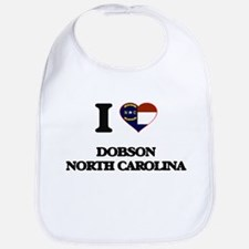 I love Dobson North Carolina Bib