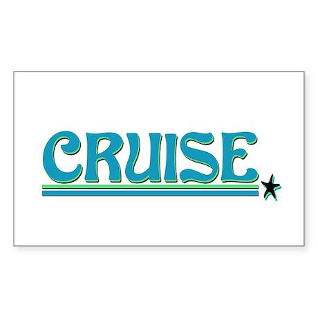 Cruise! Rectangle Sticker
