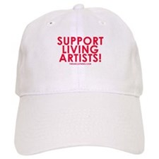 Support Living Artists Baseball Cap