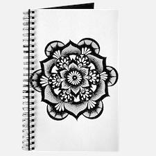Flower Mandala Journal