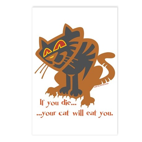 Cat Fear Postcards (Package of 8)