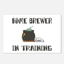 Home Brewing Humor Postcards (Package of 8)