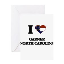 I love Garner North Carolina Greeting Cards