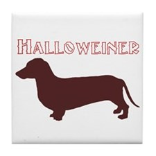 Halloweiner Tile Coaster