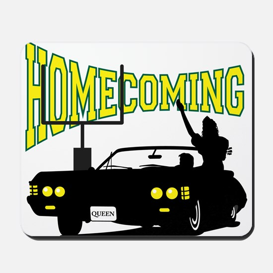 Homecoming Queen Yellow Logo Mousepad