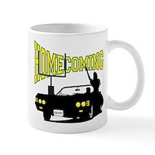 Homecoming Queen Yellow Logo Mug