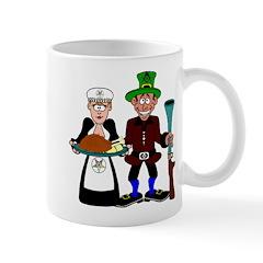 Thanksgiving Pilgrims Mug