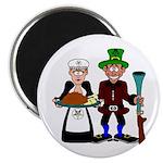 Thanksgiving Pilgrims Magnet