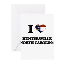 I love Huntersville North Carolina Greeting Cards