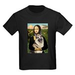 Mona's G-Shepherd Kids Dark T-Shirt