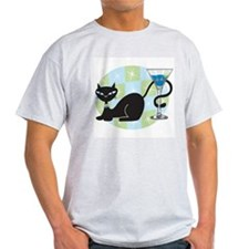 Cocktail Kitty T-Shirt