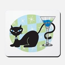 Cocktail Kitty Mousepad