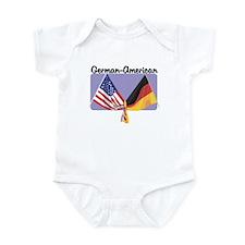 German American Infant Bodysuit